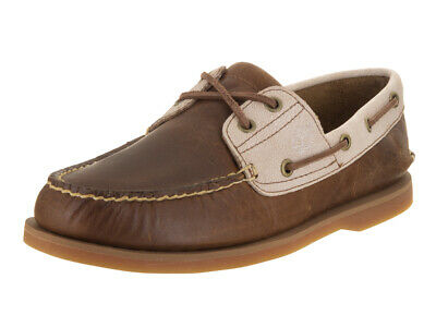 2 Chaussures Timberland Bateau Homme 12 Oeillets Classique Marron Hommes Us 7bf6gYy
