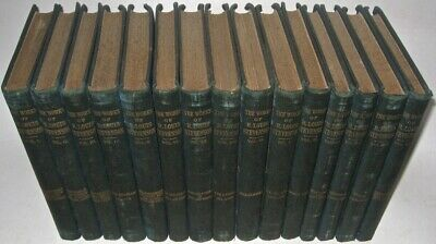 Works of ROBERT LOUIS STEVENSON! Treasure Island 15vol not leather COMPLETE rare