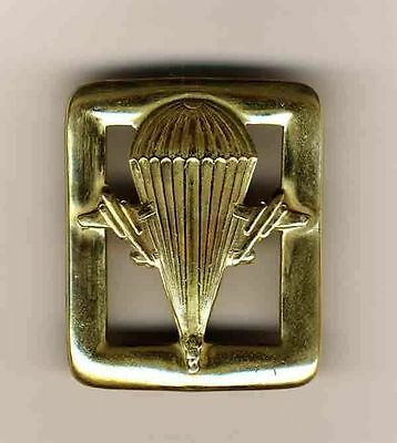 Russian Soviet  ARMY AIRBORNE PARATROOPER VDV OFFICER BELT BUCKLE Solid BRASS!!!