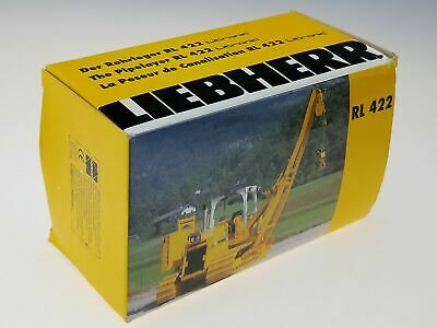 Conrad Made West Germany Liebherr Litronic Pipelayer RL 422 2804 In Box 1/50