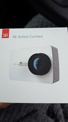 YI 4K+ ACTION Camera With Extras - This Camera Has A Lens