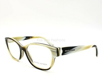 a02eaae830d7 RALPH LAUREN RL 6112 5445 Eyeglasses Optical Frame Glasses Ivory Green Horn  54mm