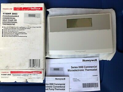 Honeywell T7300F 2002 Commercial Programmable Heat Pump/Conventional Thermostat