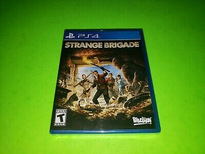 Strange Brigade PlayStation 4 PS4 BRAND NEW FACTORY SEALED GREAT Action Strategy