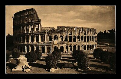 Dr Jim Stamps Coliseum Rome Italy Topical View Postcard