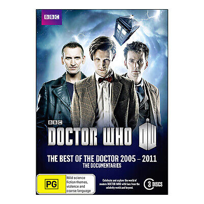 Doctor Who: The Best of the Doctor 2005 - 2011 DVD - Smith, Tennant, Eccleston