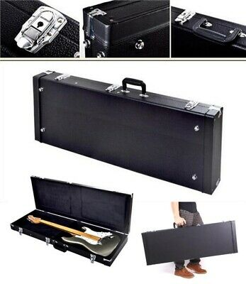 638a7a227a9 Square Bass Guitar Hard Case for Most Standard Electric Bass Guitars  Hardshell