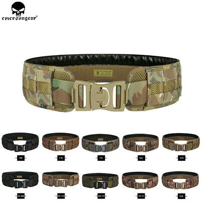 Emerson Tactical Load Bearing MOLLE Belt Airsoft Hunting Military Utility Belts