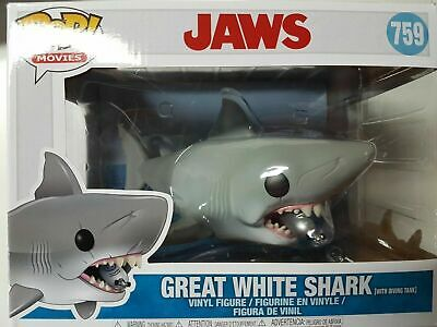 Funko POP! Movies Jaws Great White Shark with Diving Tank #759