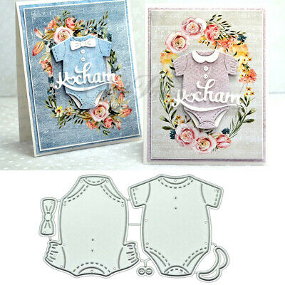 Baby Clothes DIY Metal Cutting Dies Stencil Scrapbooking Album Stamp Craft Decor