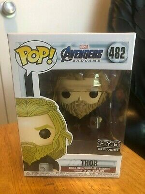 Funko Pop Thor Avengers End Game Fye Exclusive Brand New Free Shipping!
