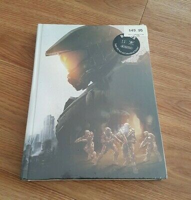 Halo 5 Guardians Official Collectors Ed. PRIMA STRATEGY GUIDE *Brand New/Sealed*