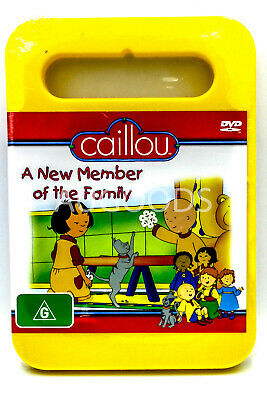 CAILLOU FAMILY COLLECTION Vol 9 Canadian Dvd - $3.99 ... Caillou Family Collection 9 13
