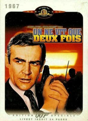 """ ON NE VIT QUE DEUX FOIS "" DVD DIGIPACK NEUF + LIVRET -James BOND 007 - CONNERY"