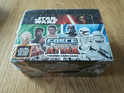 Star Wars The Force Awakens Force Attax Cards Sealed Box 24 Packs