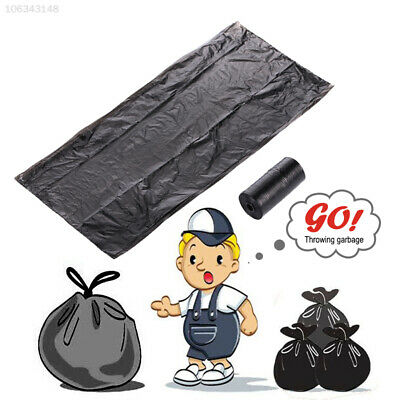 B102 Black Disposable Bag Office Car Lawn Plastic Garbage Bags House