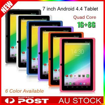 "7"" Inch Android Tablet 8GB Quad Core 4.4 Dual Camera Bluetooth Wifi GPS Tablet"