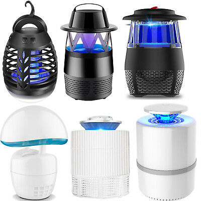 Safe Photocatalytic Mosquito Killer Lamp LED Light Non-Toxic UV Insect Trap USB