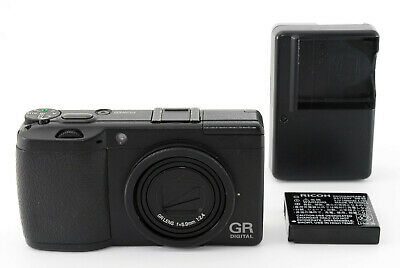【NEAR MINT】Ricoh GR Digital II 10.1MP Digital Camera from Japan #441431