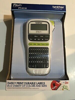 Brother P-Touch PT-H110 Label Maker Labeler - LCD Display - BRAND NEW