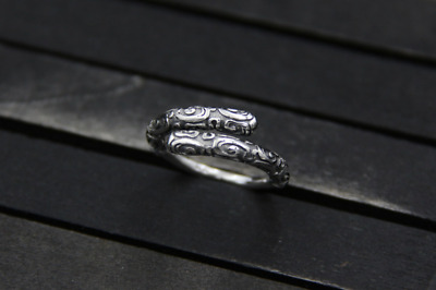 men's and women' Jewelry gift 925 Sterling Silver Creative golden cudgel ring