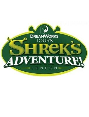 2 X SHREK'S ADVENTURE! LONDON Tickets for Sunday, 29th Sep, 2019 at 1.00pm