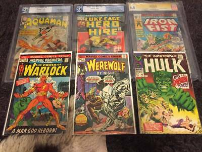 Superb Lot of 50 Comics + 1 Graded CGC Comic - Modern To Vintage - Great Deal