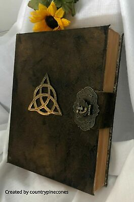 Book of Shadows spell book for THE NEW WITCH Wicca Pagan Spells Book of Shadows