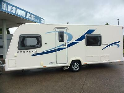 Bailey Pegasus Verona 4 Berth/fixed bed with motor mover 2013