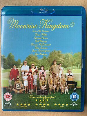 Moonrise Kingdom Blu-Ray 2012 Skurril Scout Komödie W / Edward Norton + Bill