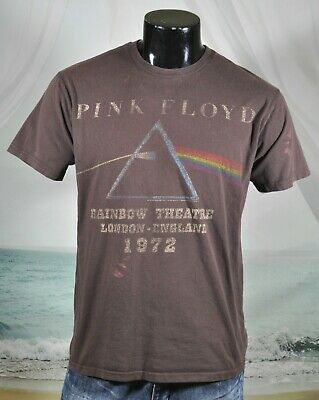 PINK FLOYD Rainbow Theatre London England SHIRT Sz L Brown Anthill Rockware 2007