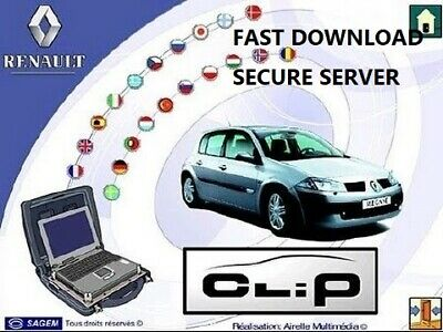 2018 VERSION✔RENAULT CLiP✔ MAIN DEALER DIAGNOSTIC SOFTWARE✔FAST SECURE DOWNLOAD✔