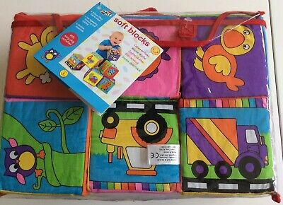 Galt Soft Fabric Baby Building Blocks. Used Once