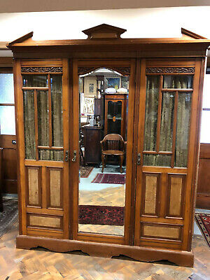 Early 20th Century Antique Large Compactum Wardrobe - Delivery Available