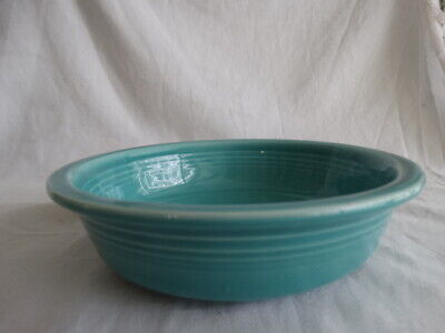 """Contemporary Fiesta Ware Turquoise Blue 1986-Current 7"""" Coupe Soup/Cereal Bowl"""