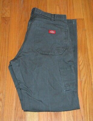 f942fcb0b9f0cd Dickies Men's Relaxed Fit Straight Leg Carpenter Duck Jeans Size 36