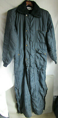 8274406983d26 Vintage Men's SAMCO Insulated Coverall Cold Weather Freezer-Wear Navy Blue  Large