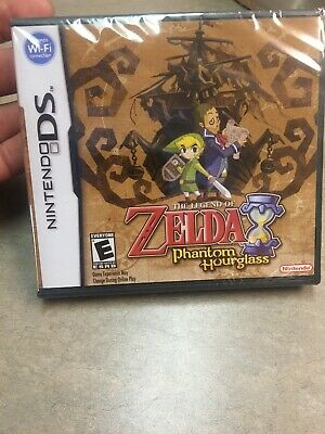 The Legend of Zelda: Phantom Hourglass (Nintendo DS, 2007) BRAND NEW SEALED!!