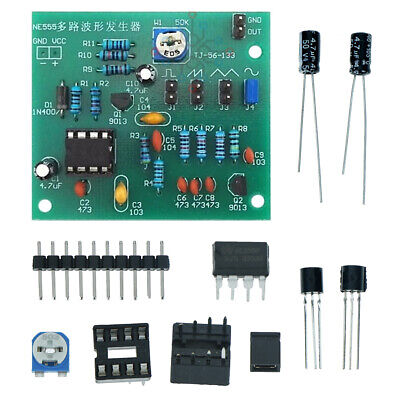 Sine Triangle Square Wave NE555 Multi-Channel Waveform Generator Module DIY PB