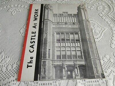 The Castle At Work Reading High School 1952 brochure Reading Pa.  Northwest Plan