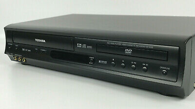 Toshiba SD-K220 Combination Hi-Fi Stereo VHS VCR & DVD Player TESTED - NO REMOTE