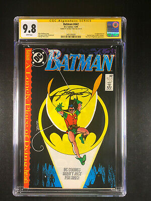 BATMAN #442 VERY FINE 1989 DC COMICS A LONELY PLACE OF DYING 1st TIM DRAKE ROBIN