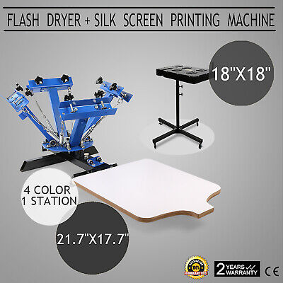 "18""X18"" Flash Dryer Silk Screen Printing Ink Curing T-Shirt Silkscreen GREAT"