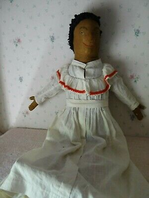 Wonderful Antique Primitive African American Rag Doll From a Local Estate