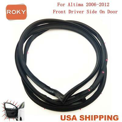 Door Opening Weatherstrip Seal High Quality front Left for Nissan ALTIMA 2006-12