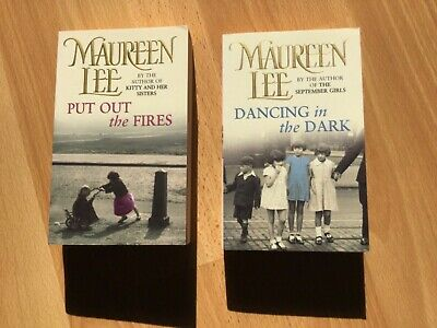 2 x Paperback Books by Maureen Lee Put Out The Fires and Dancing In The Dark