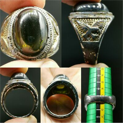 Old Beautiful Stunning Nagaland stone Unique Ring      #38