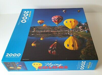Springbok Flying Colors Hot Air Balloons Jigsaw Puzzle 2000 Pieces CIB