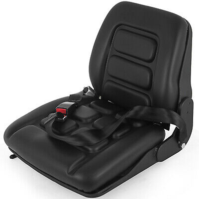 Forklift Suspension Seat with Auto Seat Lock&Seat Belt Ergonomic Sponge Pvc