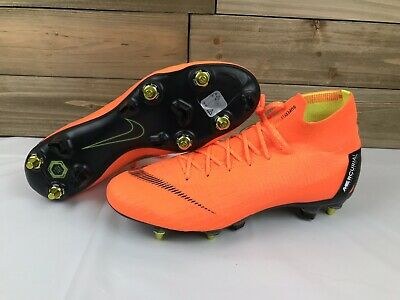 84b889d184ca Nike Mercurial Superfly 6 Elite SG-PRO Anti-Clog Soccer Cleat Size 11 AH7366